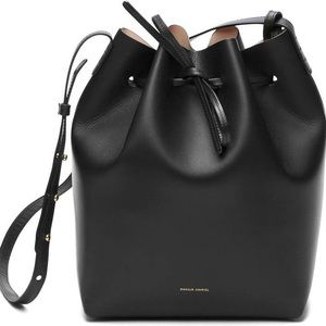 Mansur Gavriel Small Black Bucket Bag